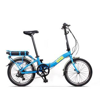 Bicicleta electrică Camping Dinamic Albastru