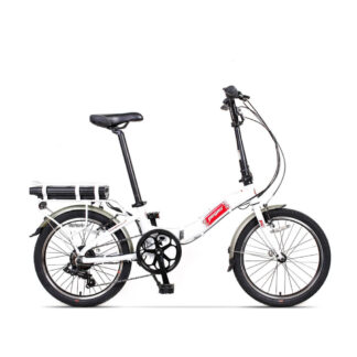 Bicicleta Electrica Camping Dinamic Alb