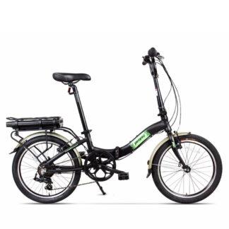 Bicicleta Electrica Camping Dinamic Negru