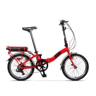 Bicicleta Electrica Camping Rosu