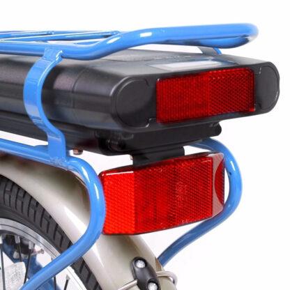 Bicicleta Electrica Camping Albastru
