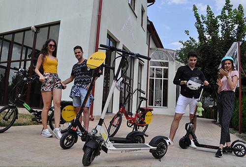 Inchirieri trotinete si biciclete electrice